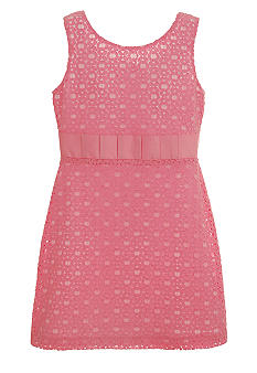 kc parker Lace Knit Dress Girls 7-16