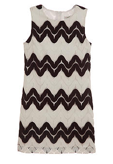 kc parker Zig-Zag Dress Girls 7-16