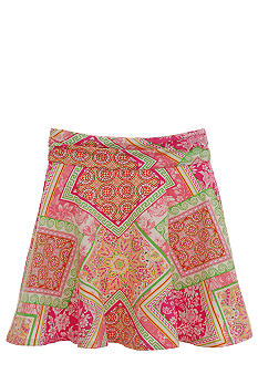 kc parker Jersey Print Skirt Girls 7-16