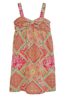 kc parker Jersey Print Dress Girls 7-16