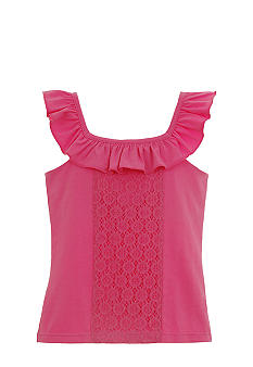 kc parker Ruffle Tank Top Girls 7-16