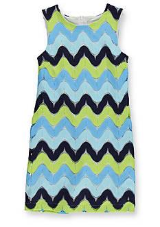 kc parker® Zig-Zag Lace Dress Girls 7-16