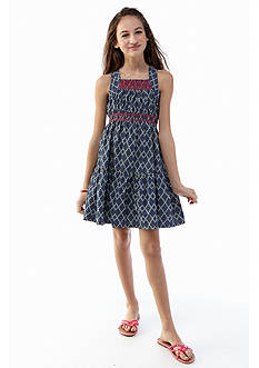 kc parker Sleeveless Woven Dress Girls 7-16