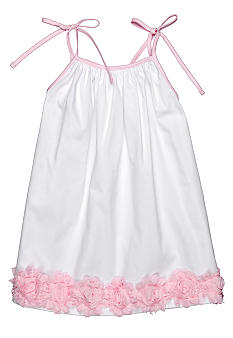 Nain & Joe Rosette Hem Dress Girls 2-8