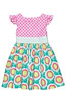 Nain & Joe Floral Hazel Dress Girls 2-8