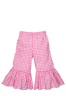 Nain & Joe Big Ruffle Gingham Capri Girls 2-8