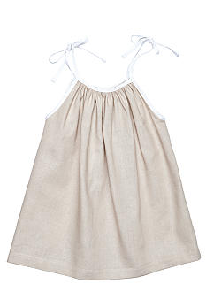Nain & Joe Linen Tie Straps Dress Girls 2-8