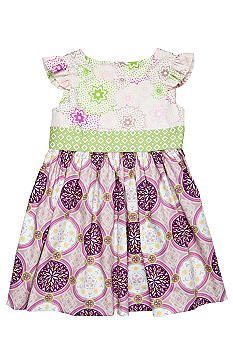 Nain & Joe Purple Hazel Dress Girls 2-8