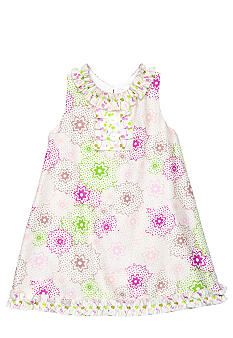 Nain & Joe Stars Ruffle Front Dress Girls 2-8