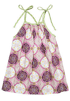 Nain & Joe Purple Medallion Dress Girls 2-8