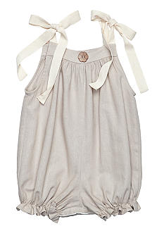 Nain & Joe Linen Bubble Romper Girls 2-4
