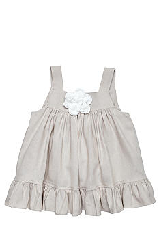 Nain & Joe Linen Ruffle Top Girls 2-7