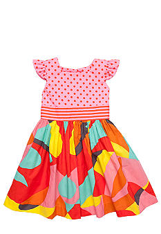 Nain & Joe Multi Print Hazel Dress Girls 2-8