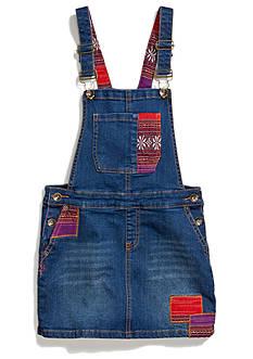 Lucky Brand Patchwork Denim Skirtall Girls 7-16