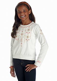 Lucky Brand Ferris Sweatshirt Girls 7-16