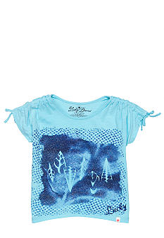 Lucky Brand Seashell Tee Girls 4-6X