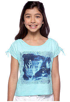 Lucky Brand Seashell Shirt Girls 7-16