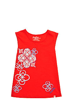 Lucky Brand Floral Graphic Tee Girls 4-6x