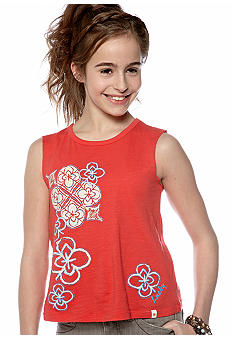 Lucky Brand Graphic Tank Girls 7-16