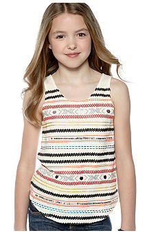 Lucky Brand Multi Stripe Tank Girls 7-16