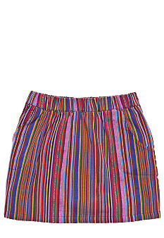 Lucky Brand Stripe Skort Girls 7-16