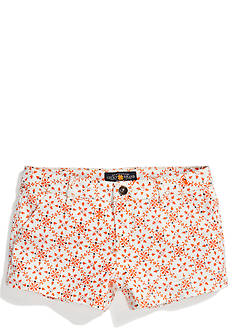 Lucky Brand Geo Floral Print Shorts Girls 7-16
