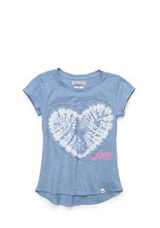 Lucky Brand Heart Applique Sequin Top Girls 7-16