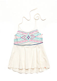 Lucky Brand Kylie Tribal Halter Tank Top Girls 7-16