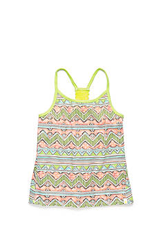 Lucky Brand Strappy Printed Tank Top Girls 7-16