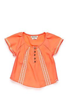 Lucky Brand Amelia Peasant Top Girls 7-16