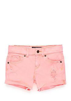 Lucky Brand Riley Highroller Shorts Girls 7-16
