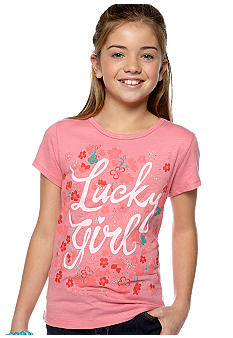 Lucky Brand Lucky Girl Tee Girls 7-16