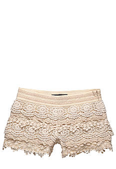 Lucky Brand Crochet Short Girls 7-16