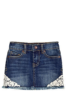 Lucky Brand Sofia Denim Mini Skirt Girls 4-6X