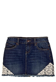 Lucky Brand Sofia Denim Mini Skirt Girls 7-16