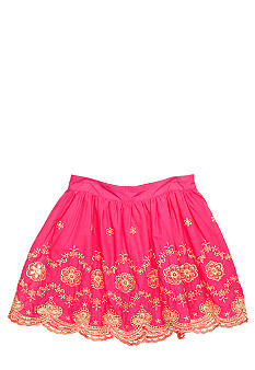 Lucky Brand Embroidered Skirt Girls 7-16