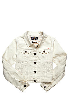 Lucky Brand Sabrina Slim Denim Jacket Girls 7-16