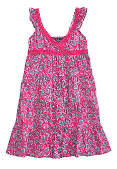 Lucky Brand Patchwork Palace Dress Girls 4-6X