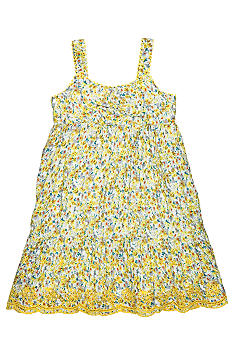 Lucky Brand City of Dawn Dress Girls 4-6X