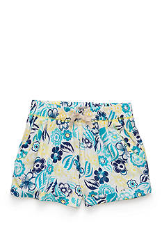 Lucky Brand Joelle Floral Soft Shorts Girls 4-6x