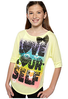 Red Camel Girls Love Your-Self Screen Tee Girls 7-16