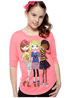 Red Camel Girls Screen Tee Girls 7-16