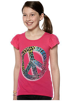 Red Camel Girls Peace Tee Girls 7-16