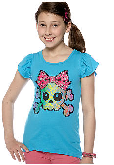 Red Camel Girls Skull Tee Girls 7-16