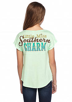 Red Camel 'Little Miss Southern Charm' Sweeper Top Girls 7-16