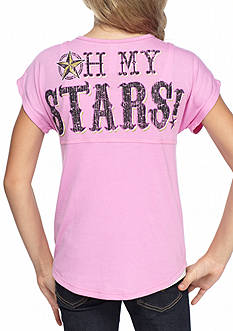 Red Camel 'Oh My Stars' Sweeper Top Girls 7-16