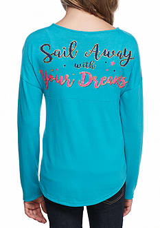 Red Camel Anchor Dreams Southern Sweeper Top Girls 7-16