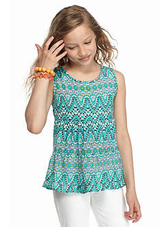 Red Camel Shally Printed Tank Top Girls 7-16