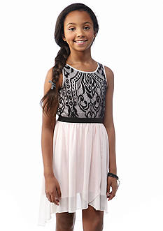 Kensie Girl Tulip Wrap Dress Girls 7-16