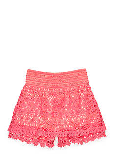 J Khaki™ Crochet Lace Skort Girls 7-16